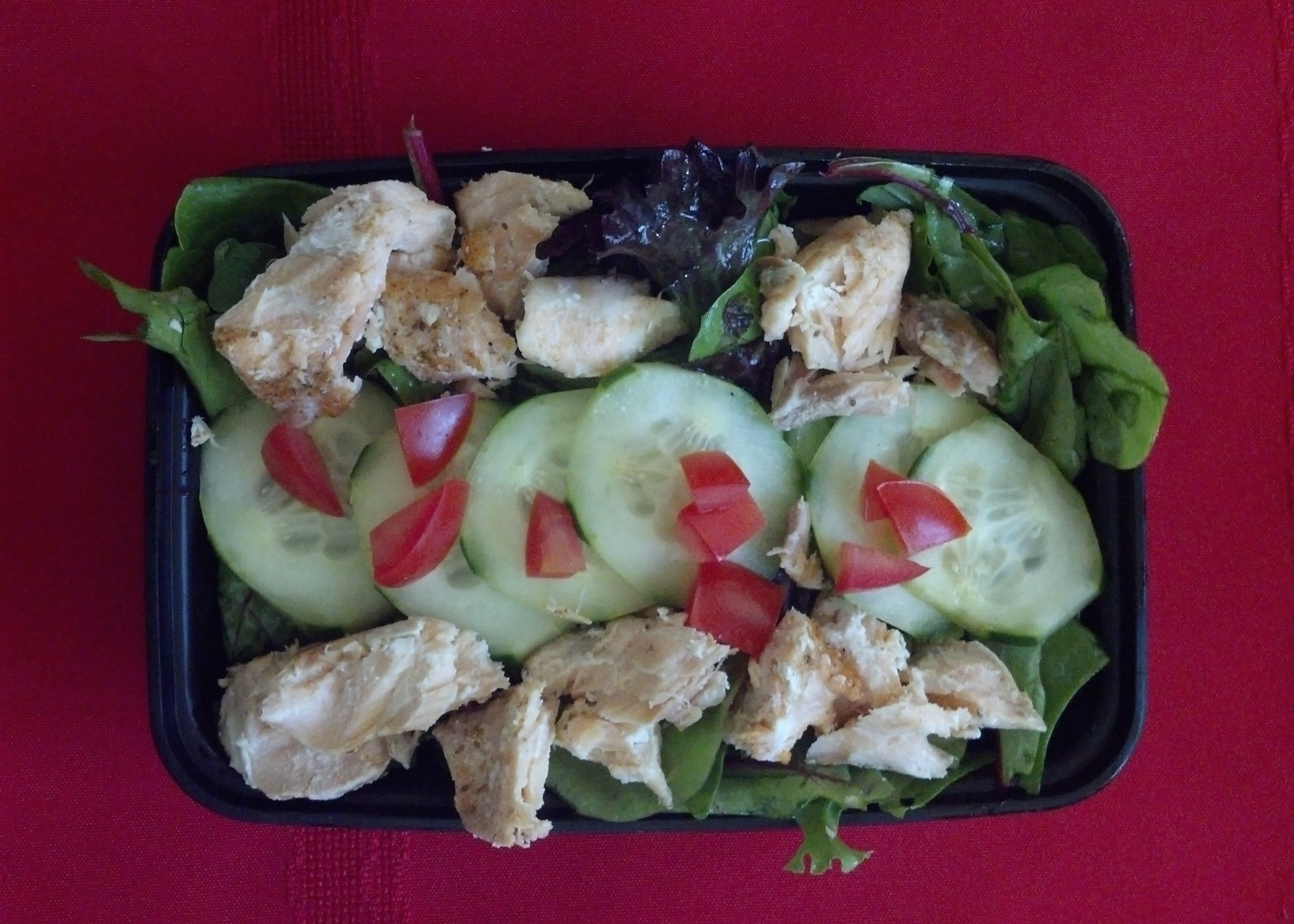 Salmon Salad - box lunch entree salad