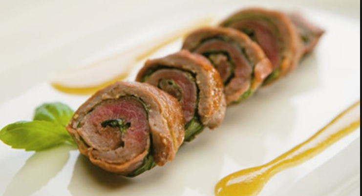 Steak Saltimbocca - delicious, elegant and gorgeous presentation!