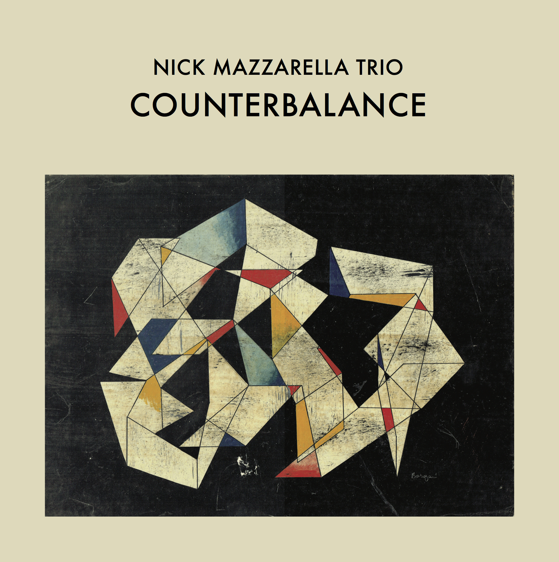 Nick Mazzarella Trio — Counterbalance