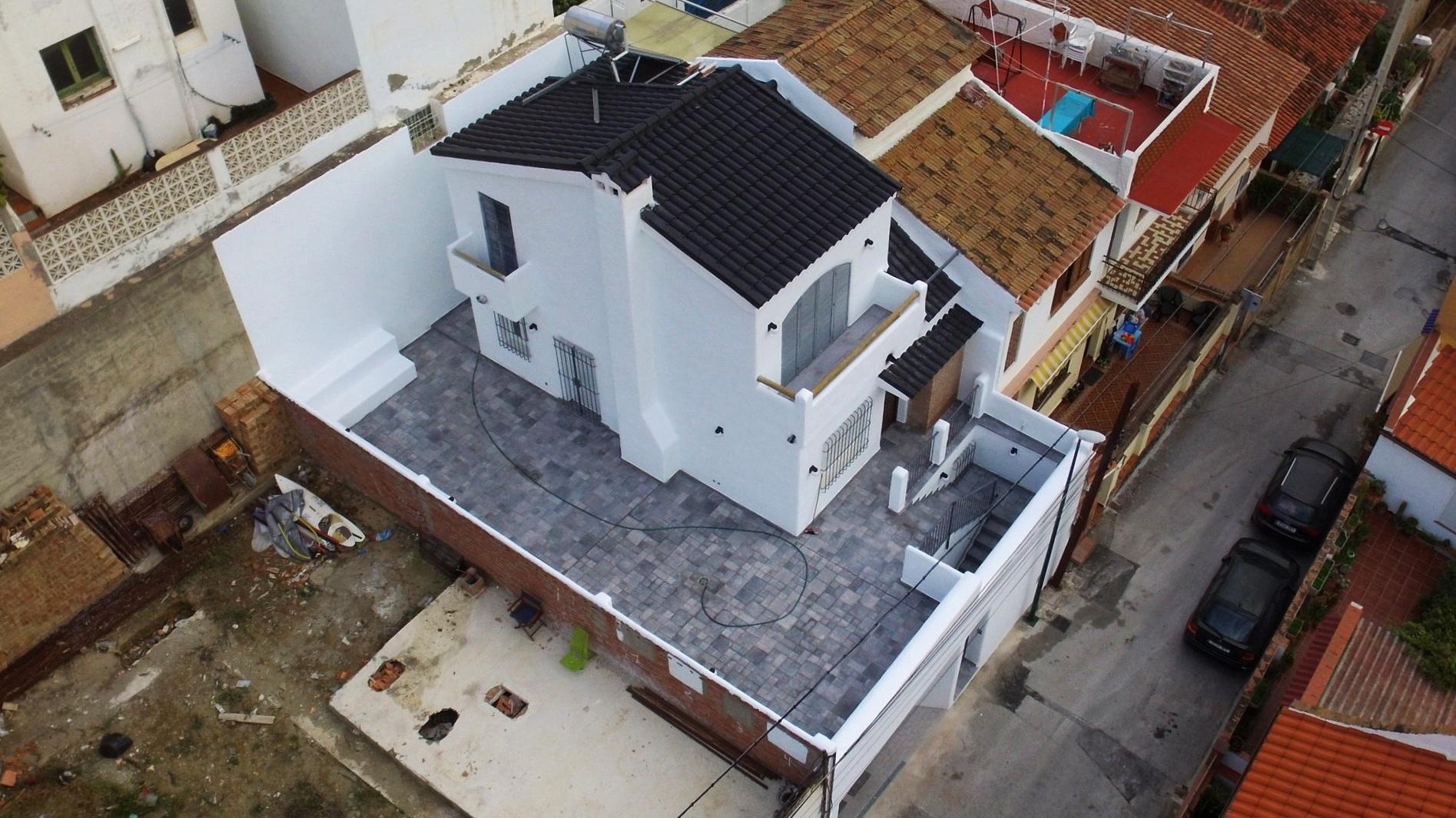 - vivienda unifamiliar en calle brasil, málaga