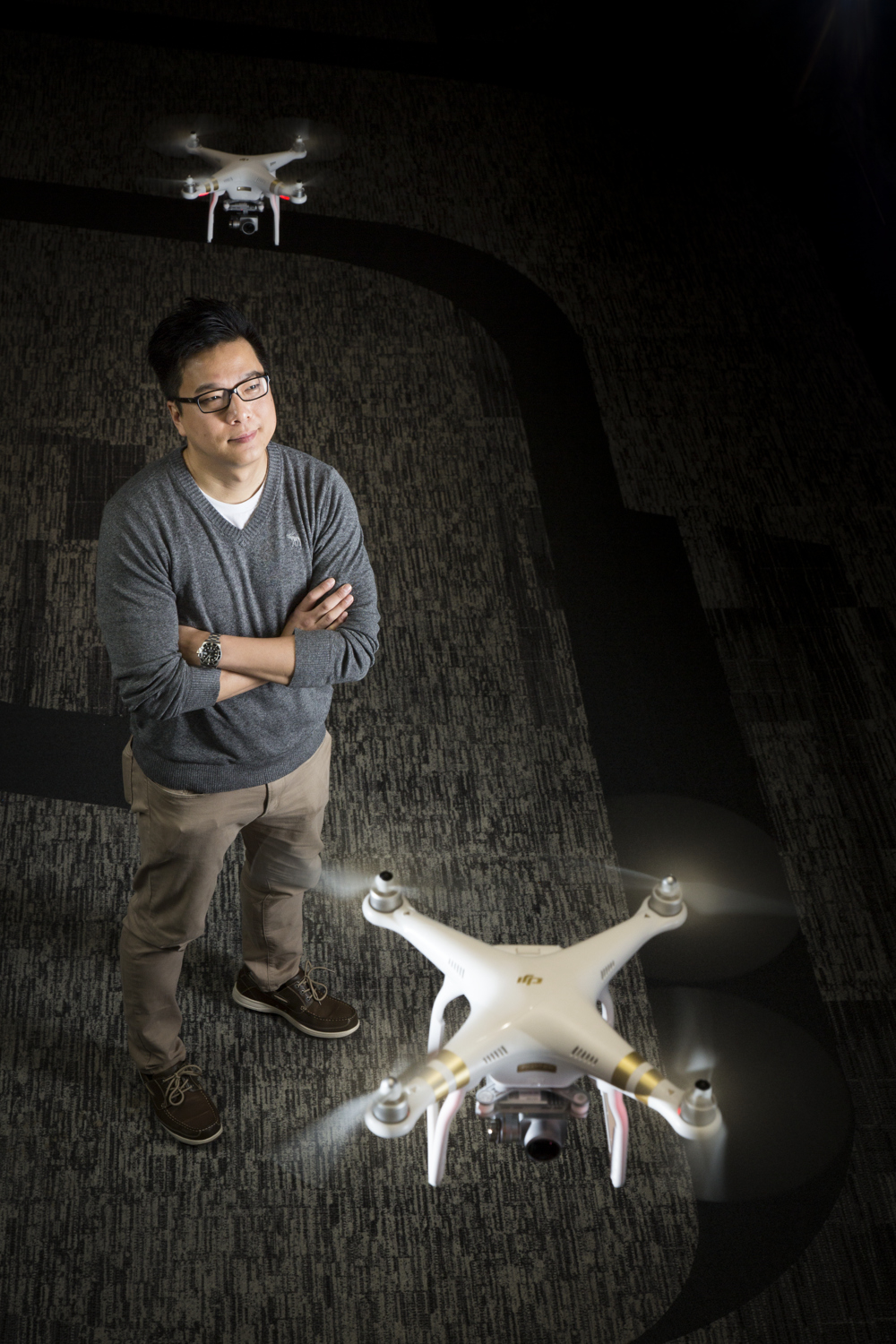 Paul Pan, Senior Product Manager at DJI for Wired UK