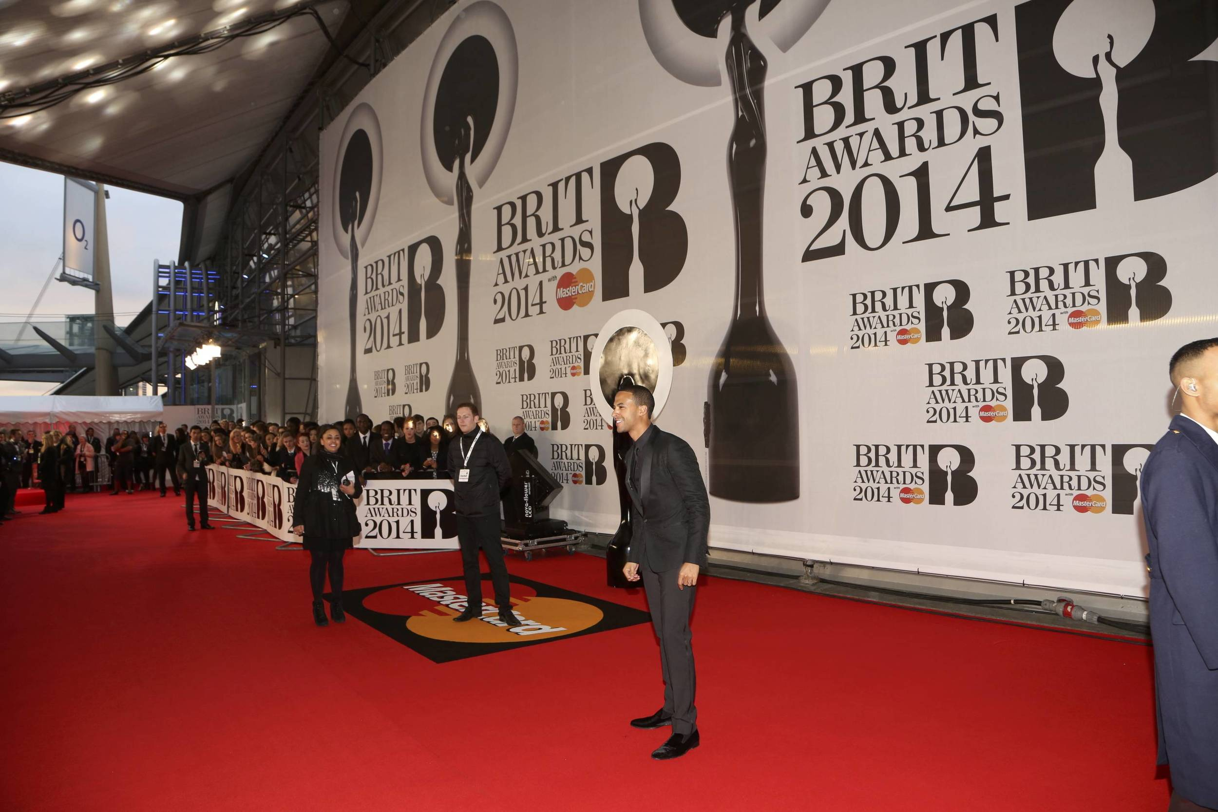 The BRIT Awards 2014 Red Carpet