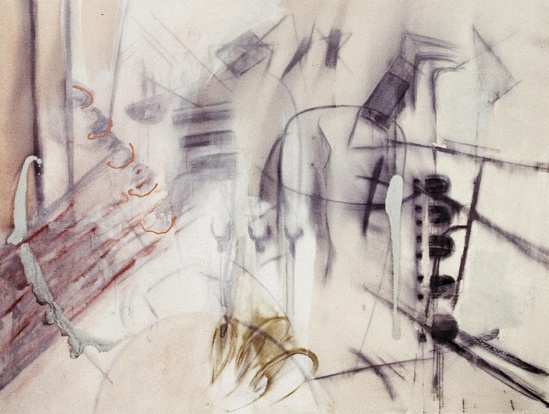 The Bullring (Ronda)    mixed media on canvas  210 cm x 150 cm