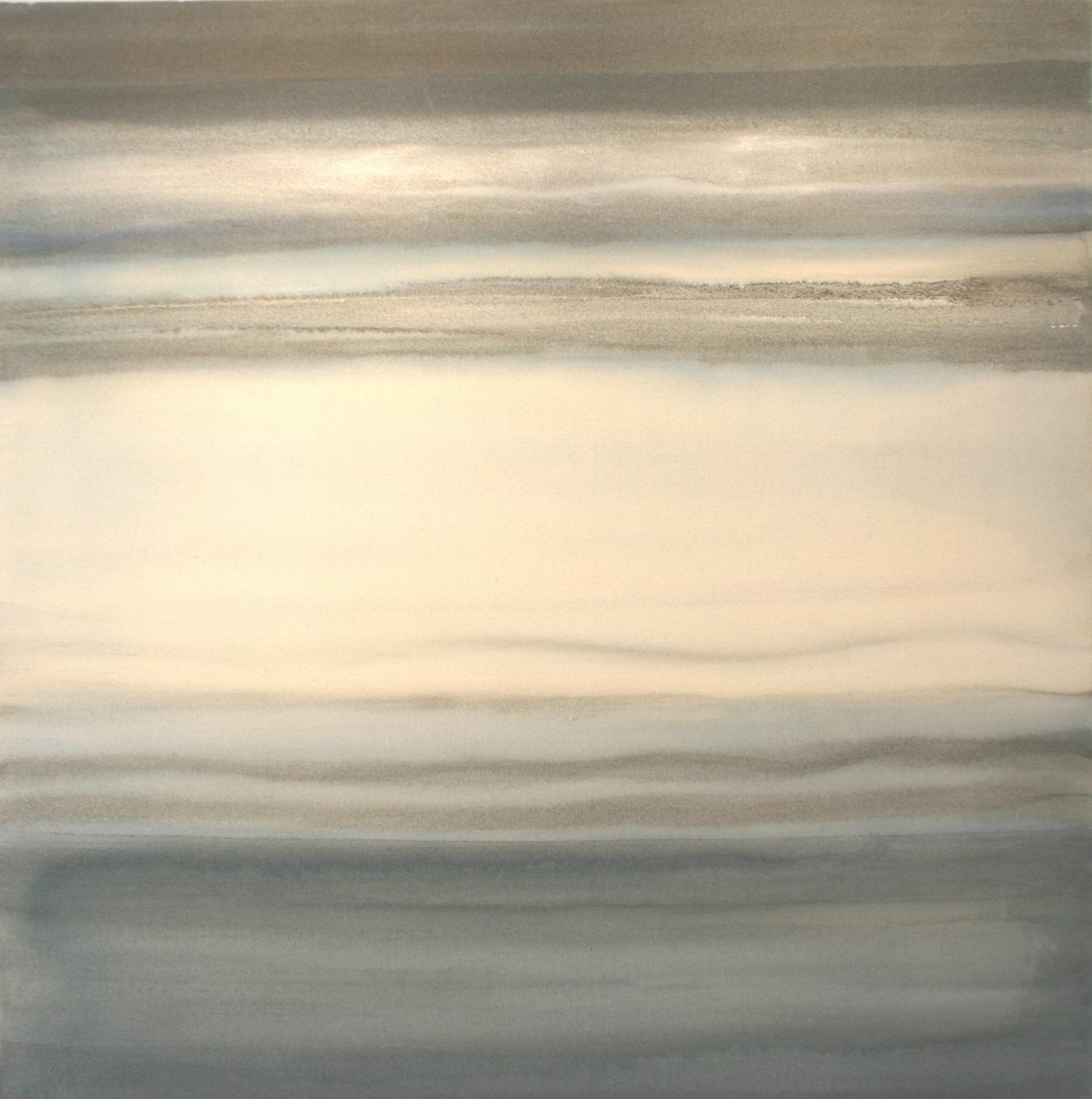 Morning Light (Cambridge)    acrylic on canvas  90 cm x 90 cm