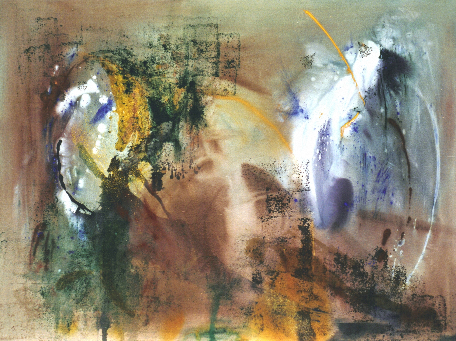 Painted Lady    mixed media on canvas  200cm x 150cm
