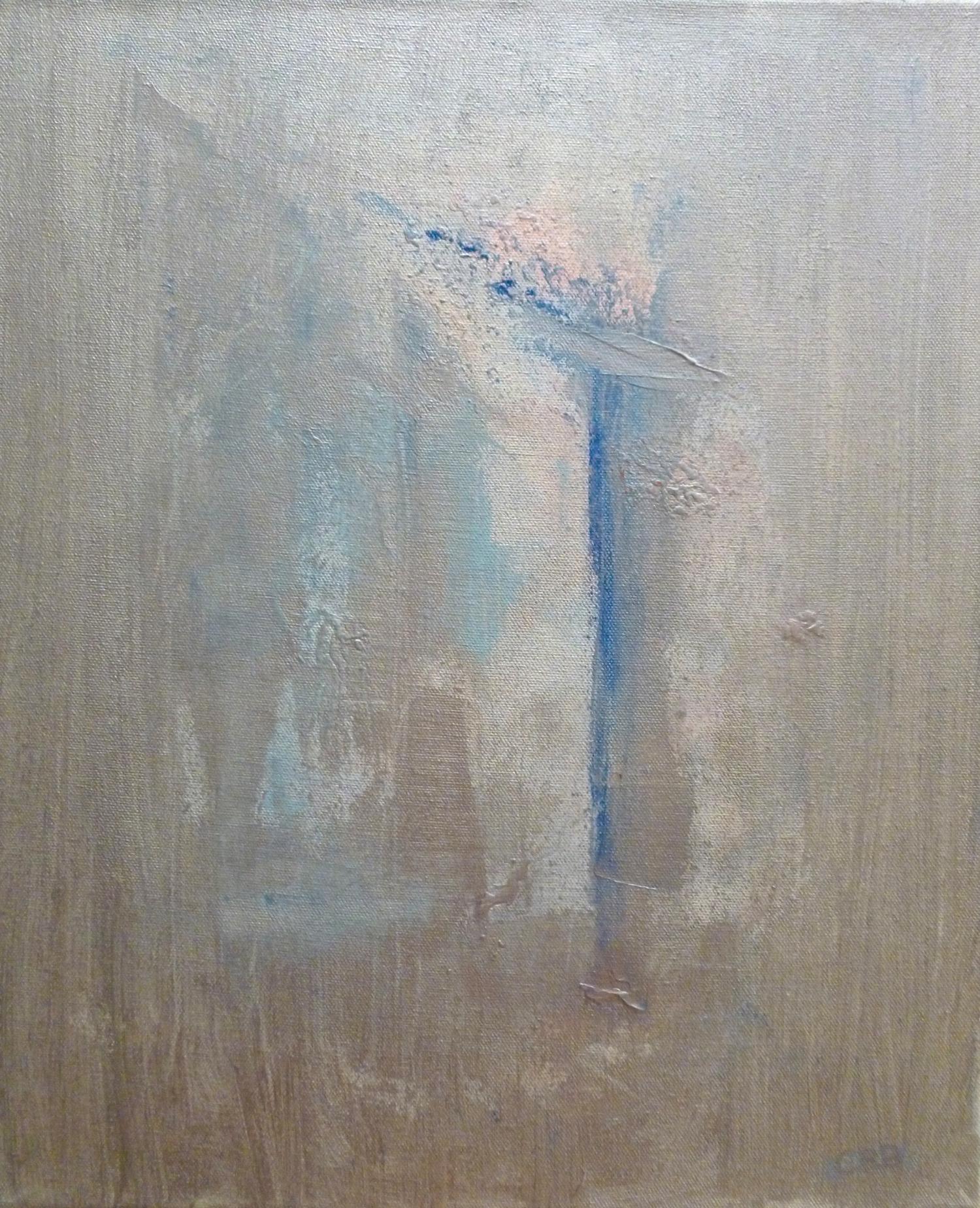 La Puerta    acrilico en lienzo  35cm x 45cm