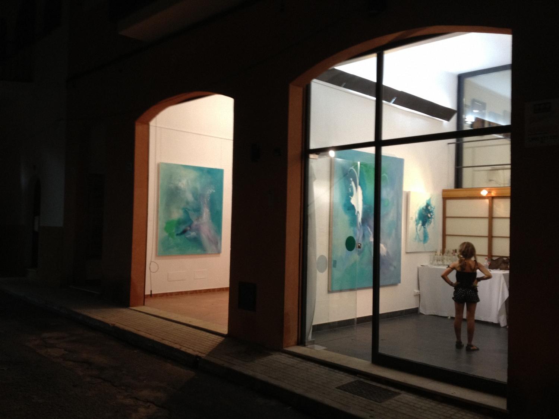 The Studio  Ice Flow No. 1 (Series 1) Sold  acrylic on canvas  175cm x 200cm