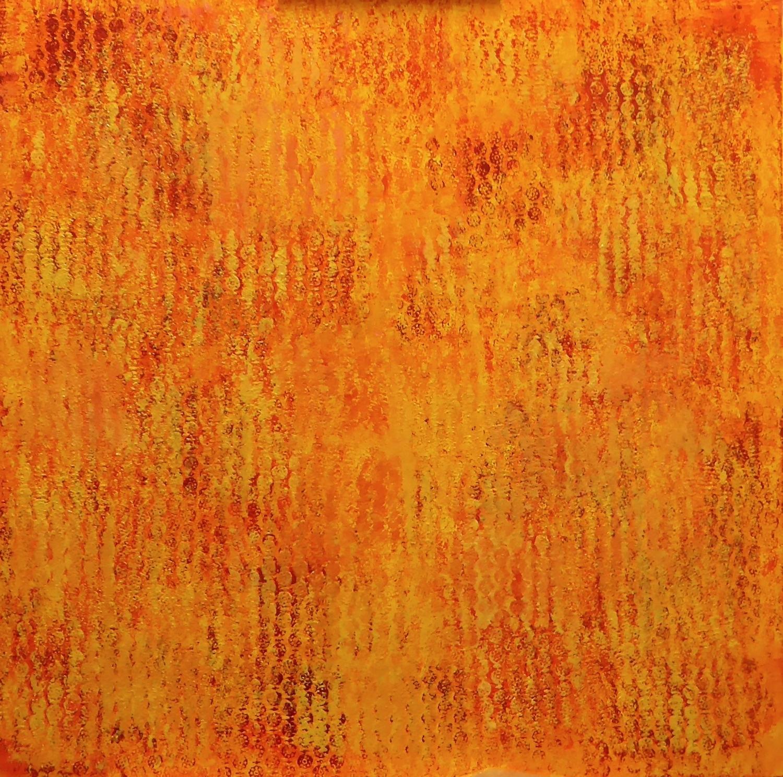 September Sunset (San Telm)  oil on canvas 100cm x 100cm