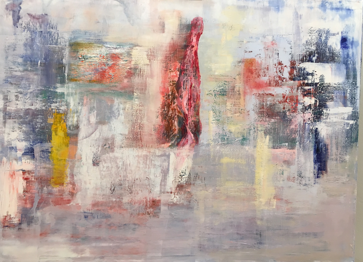 Untitled  oil on canvas  80 x 40cm  Corinna Boughton (Sold)