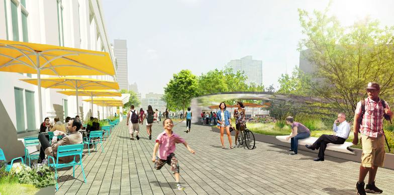 Station Plaza at Market Street  (.jpg, 11 MB), June 2016