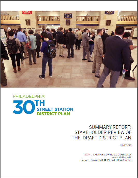 Stakeholder Review of the Draft District Plan  (PDF, 3 MB), June 2016
