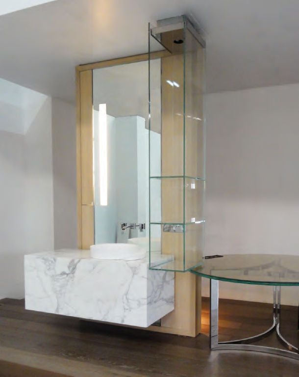 vanity island & elica sink design: innovation in bath culture, a collaboration with tonychi, 2010