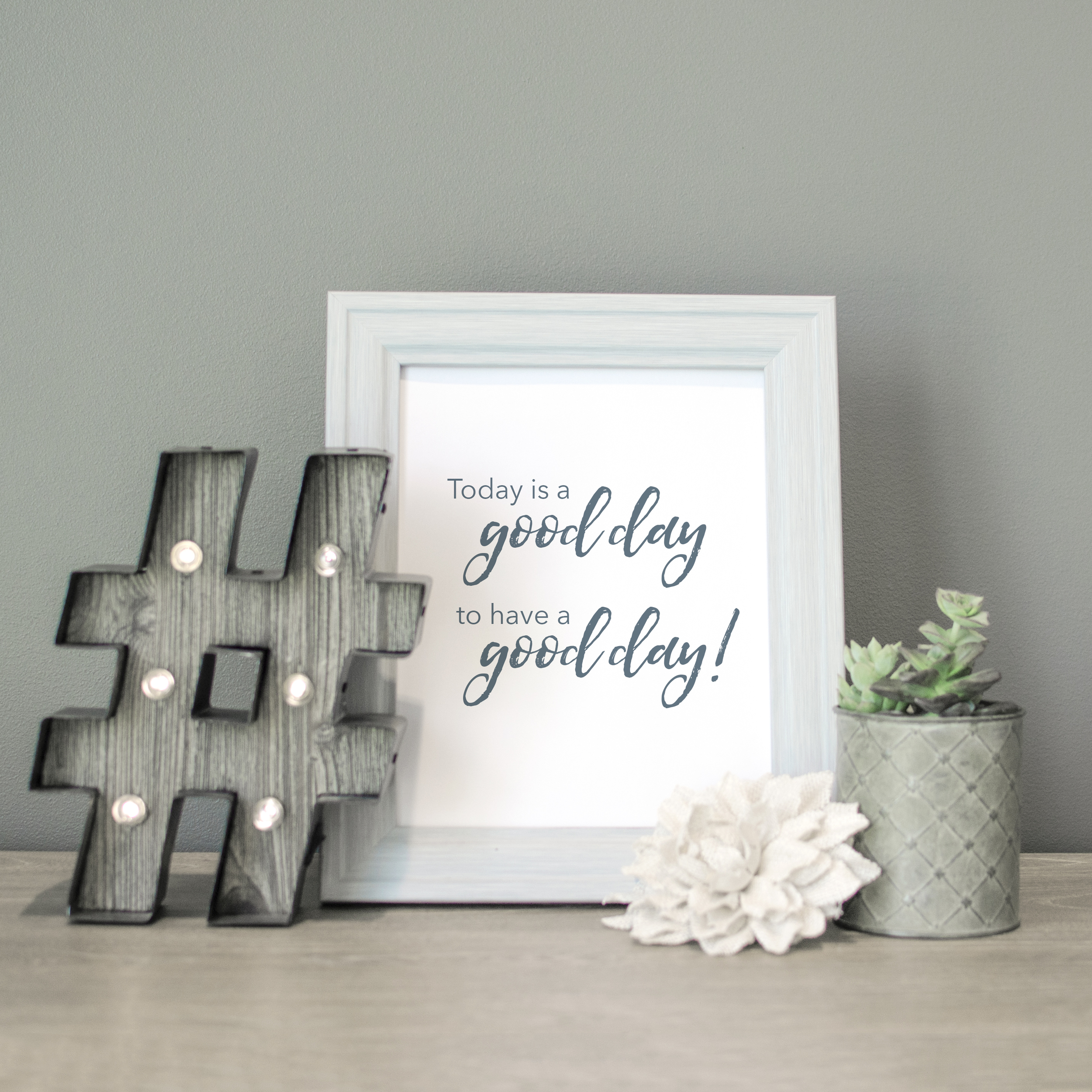 Good Day for a Good Day Brand Photo