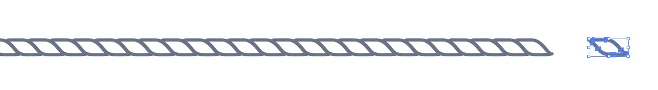 Custom Rope brush design.