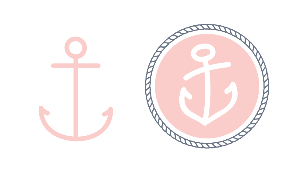 Initial anchor (left) vs. final design (right)