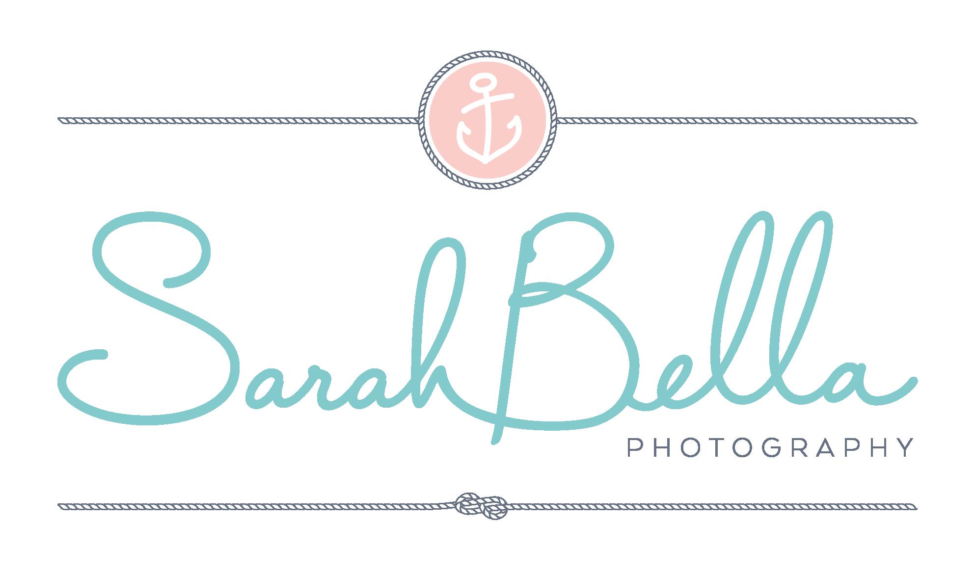 Final Logo design for Sarah Bella Photography.