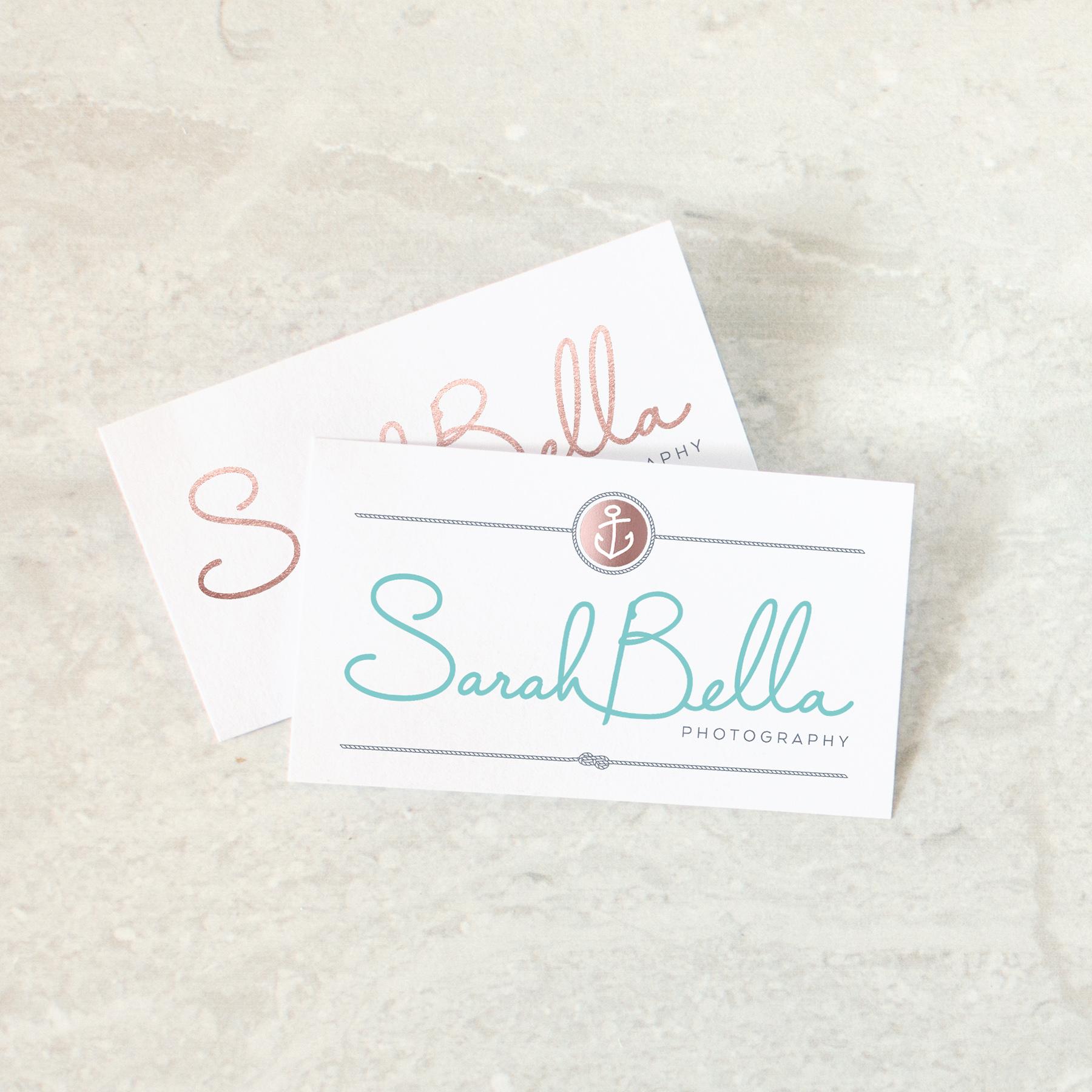 Sarah Bella Photography Logo