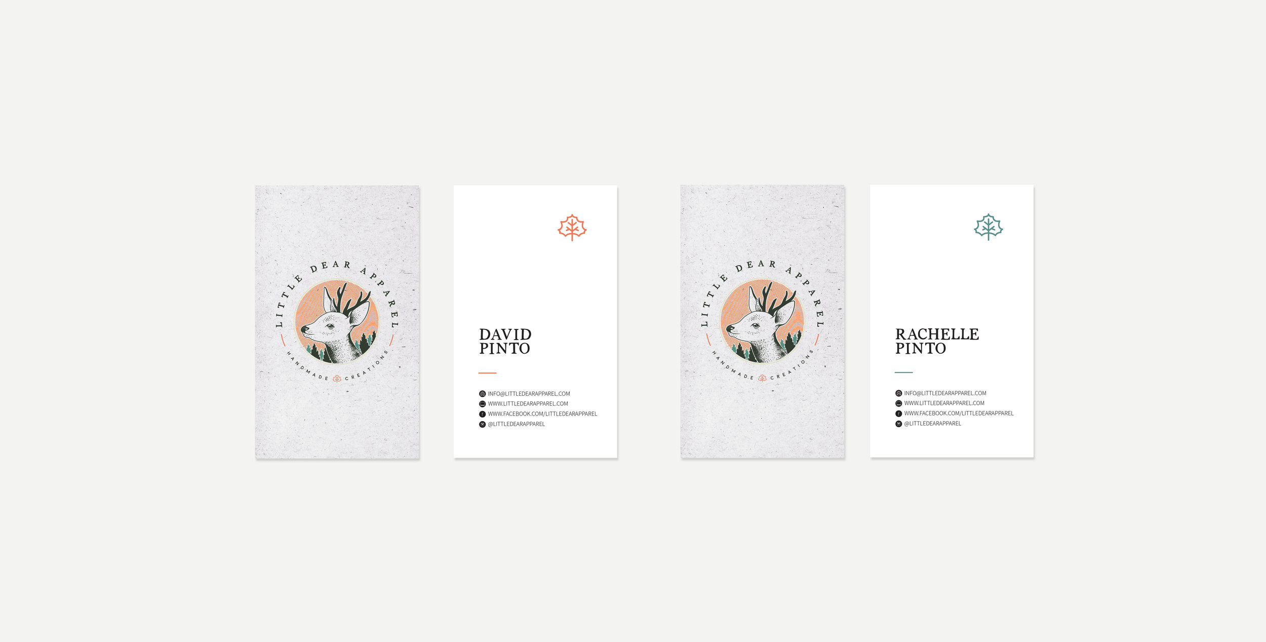 little-dear-apparel-winnipeg-branding-design-business-cards-clover-and-crow