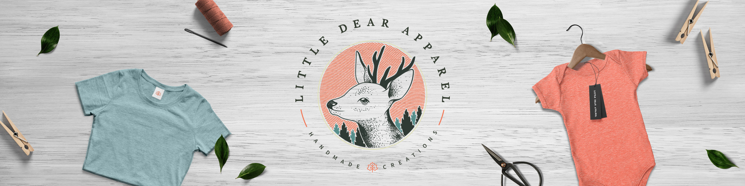 little-dear-apparel-winnipeg-branding-design-clover-and-crow