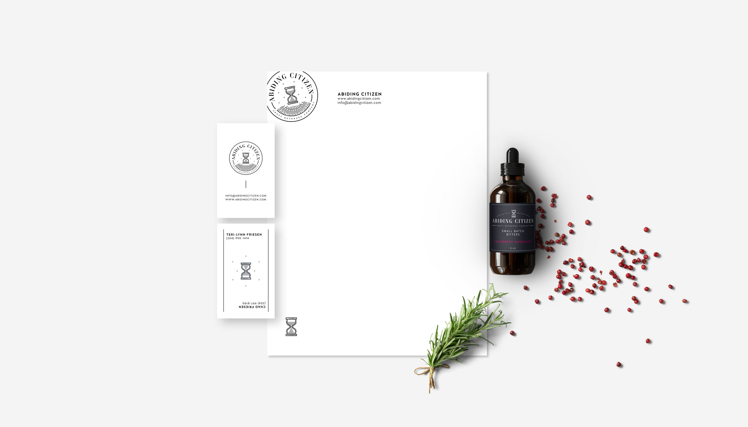 abiding-citizen-craft-beverage-company-branding-design-label-packaging-clover-and-crow