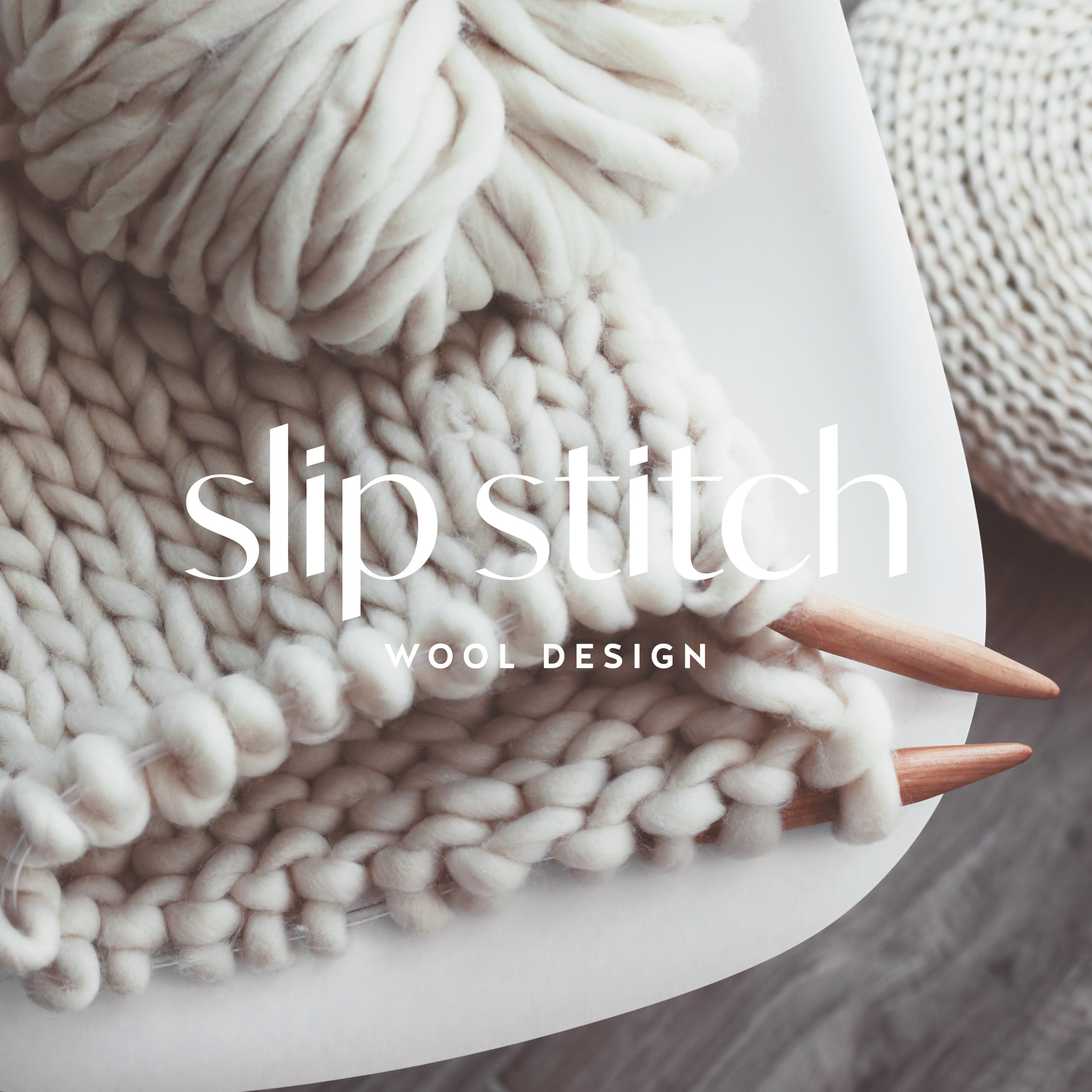 SLIP STITCH -  KNIT/CROCHET BRAND PACKAGE