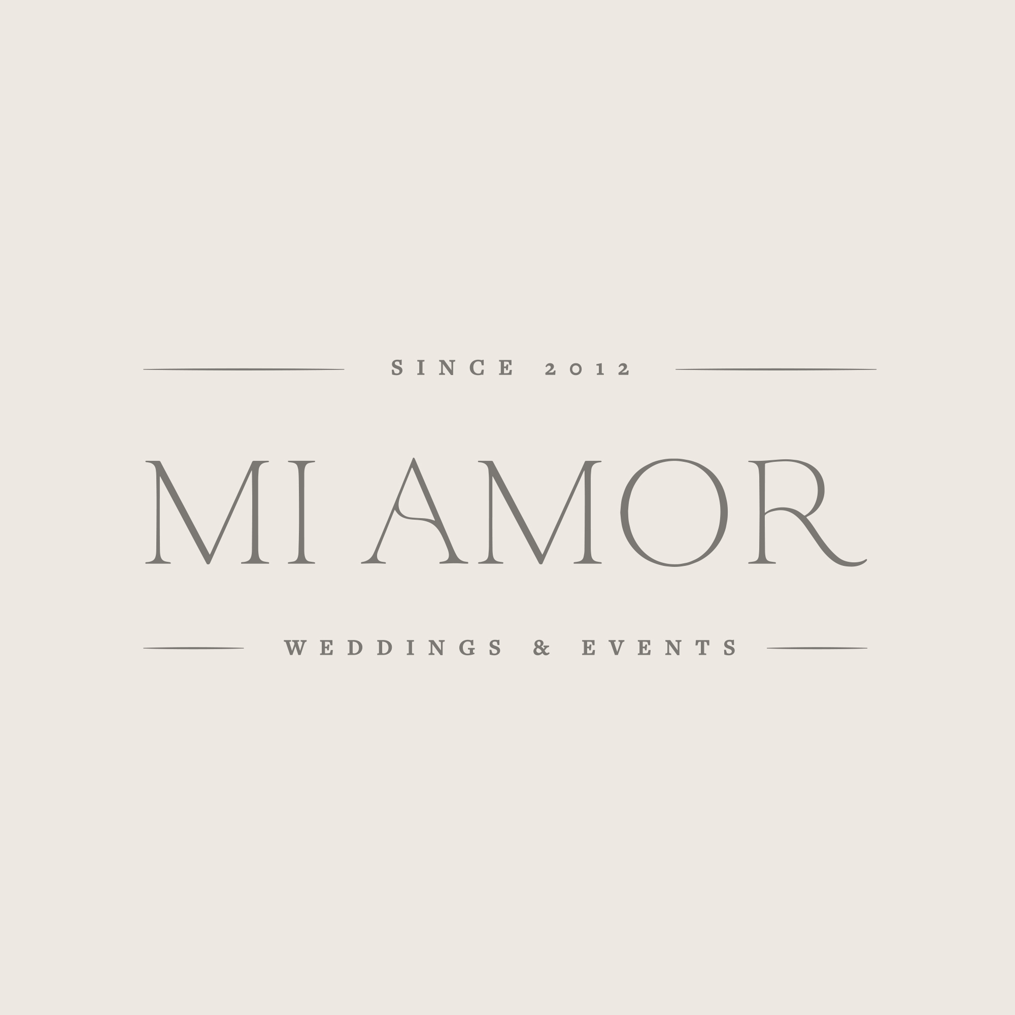 MI AMOR -  PHOTOGRAPHY BRAND PACKAGE