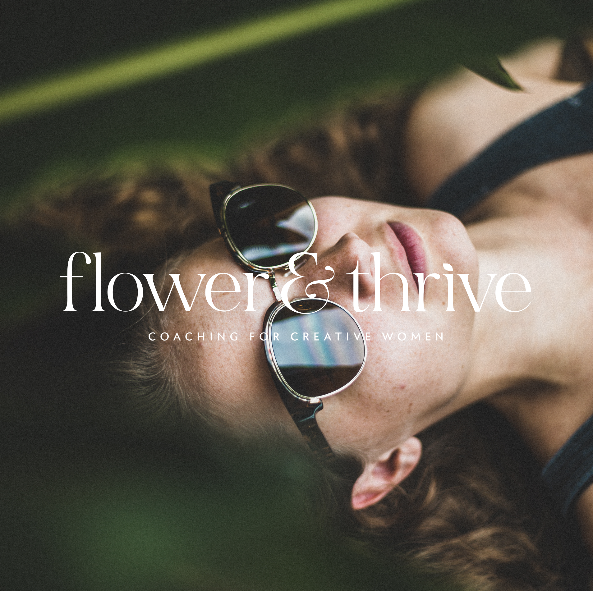 FLOWER & THRIVE -  LIFESTYLE / BUSINESS COACHING BRAND PACKAGE