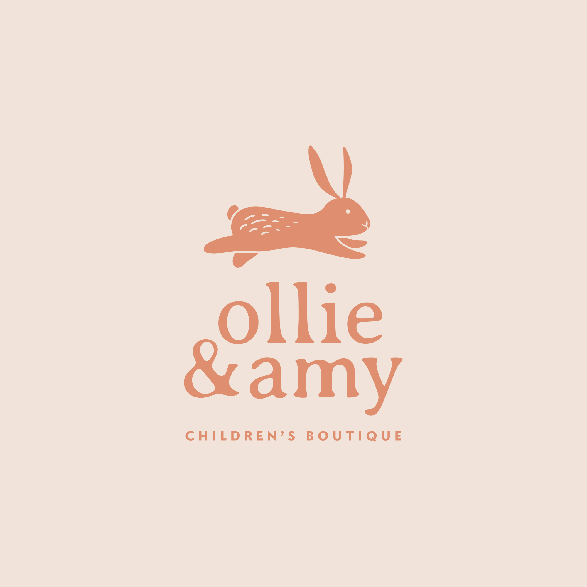 OLLIE & AMY -  CHILDREN'S BOUTIQUE BRAND PACKAGE