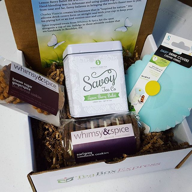 Loving the positive feedback we're getting on the May box that includes #savoytea #charlesviancin and #whimsyandspice goodies. Don't forget to tag #teaboxexpress for the chance to win a free box. Thanks for participating@savoytea @charles_viancin and@whimsyandspice!