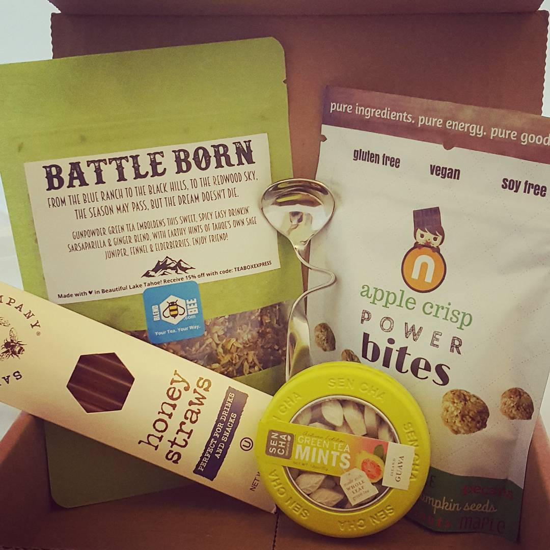 September 2017 tea box