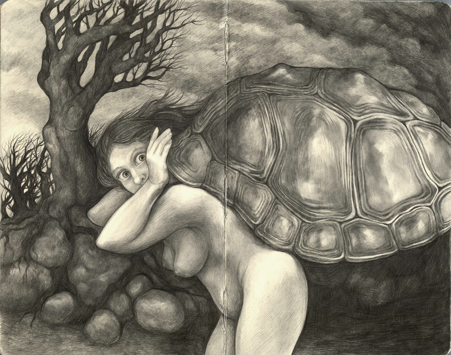 Strange Tales from My Little Black Book #12: The Weight of the Carapace
