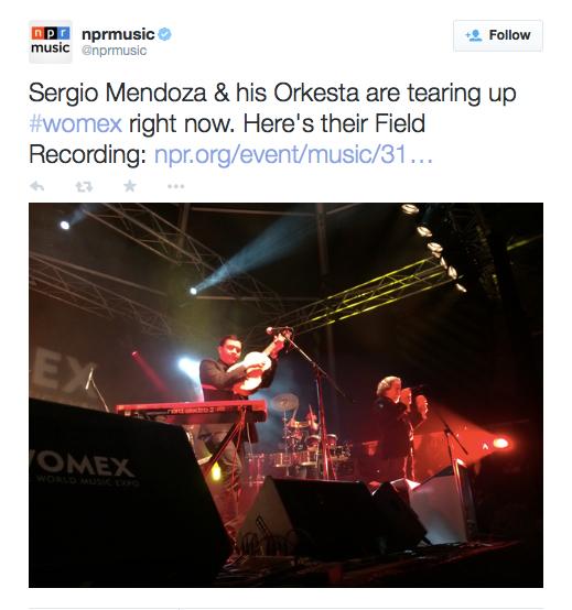 Orkesta Mendoza /WOMEX // Santiago de Compostella /// Spain