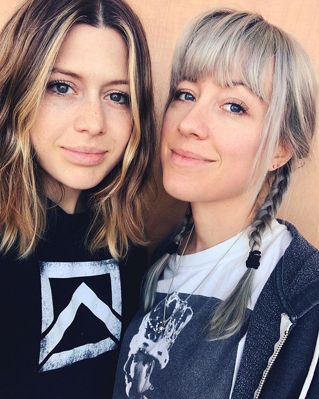Headed home 🍑🍑 Such a wonderful weekend of shows - merci beaucoup to all our beautiful new friends! #larkinpoe