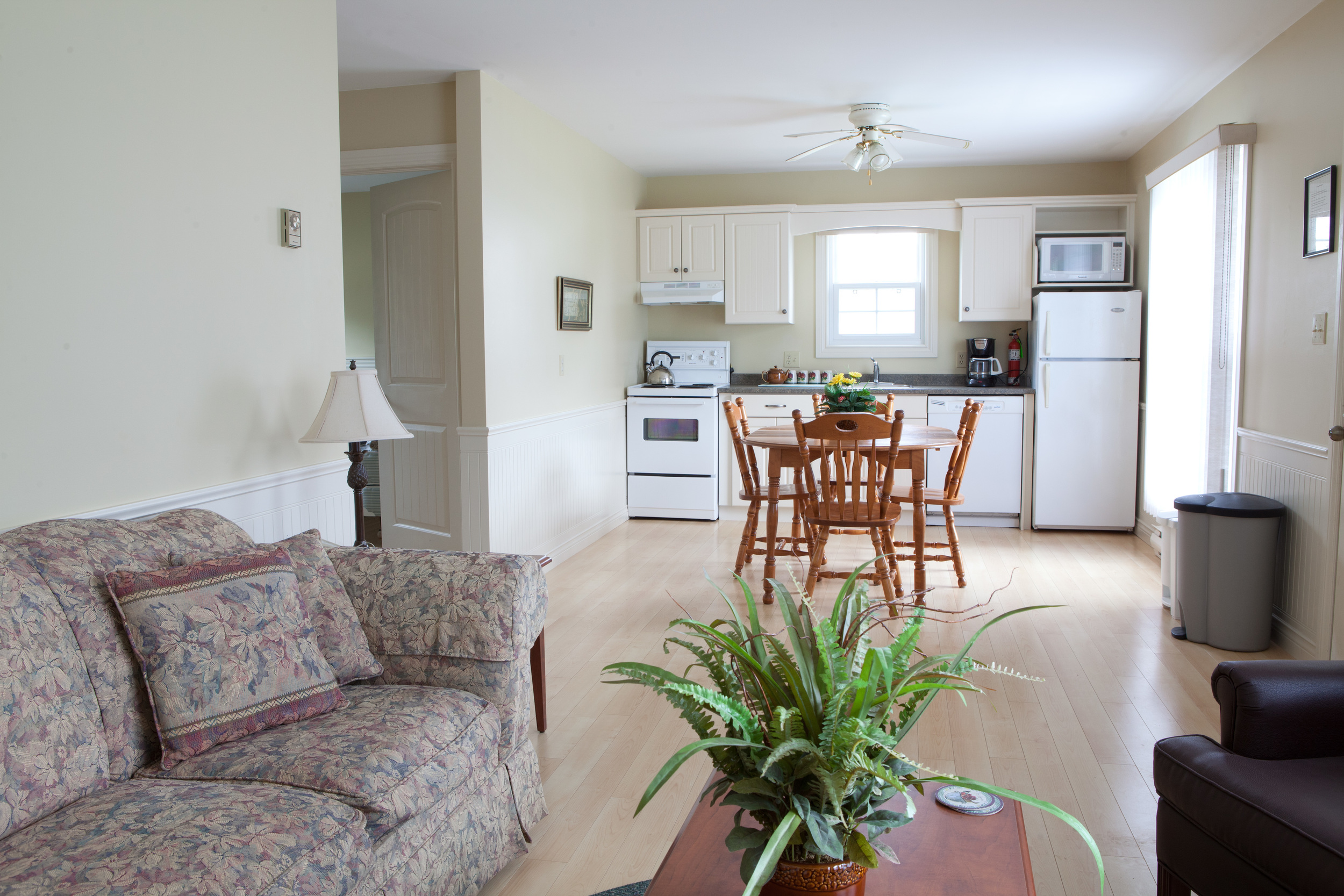 Standard Cottage Living Room and Kitchen