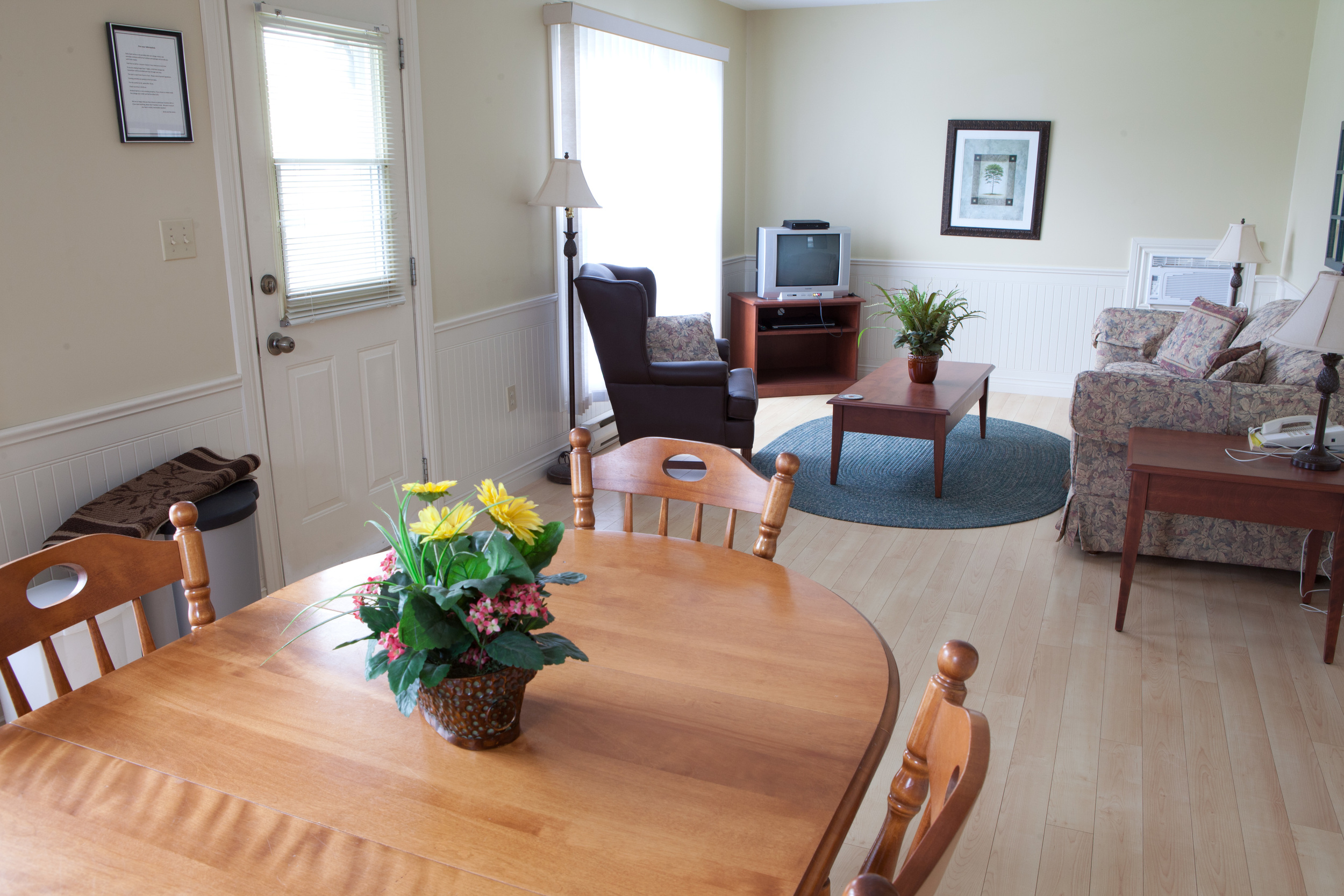Standard Cottage Kitchen and Living Room