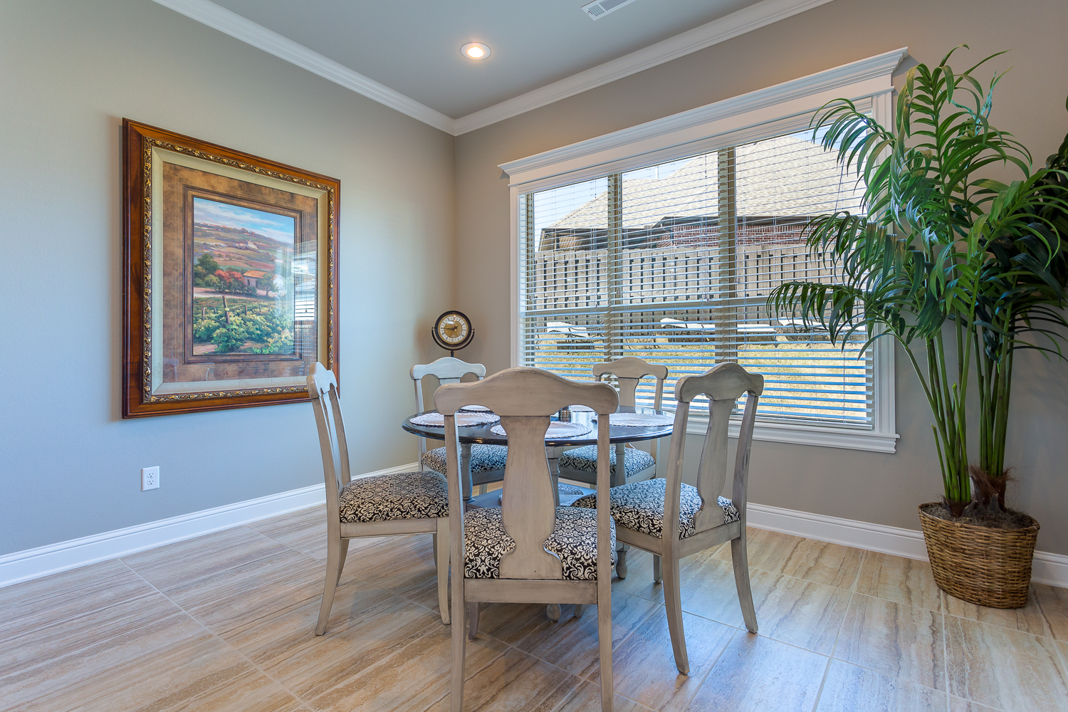 Dining area located in the Cross Creek community of Rogers shot