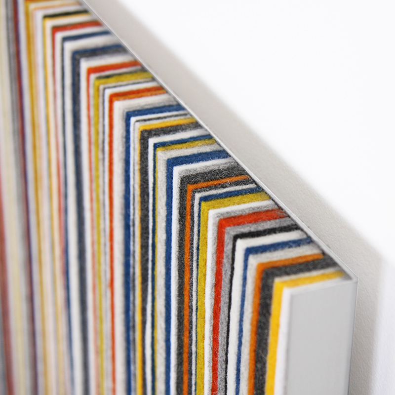 Wall Panel 071 - Yellow / Blue / Gray
