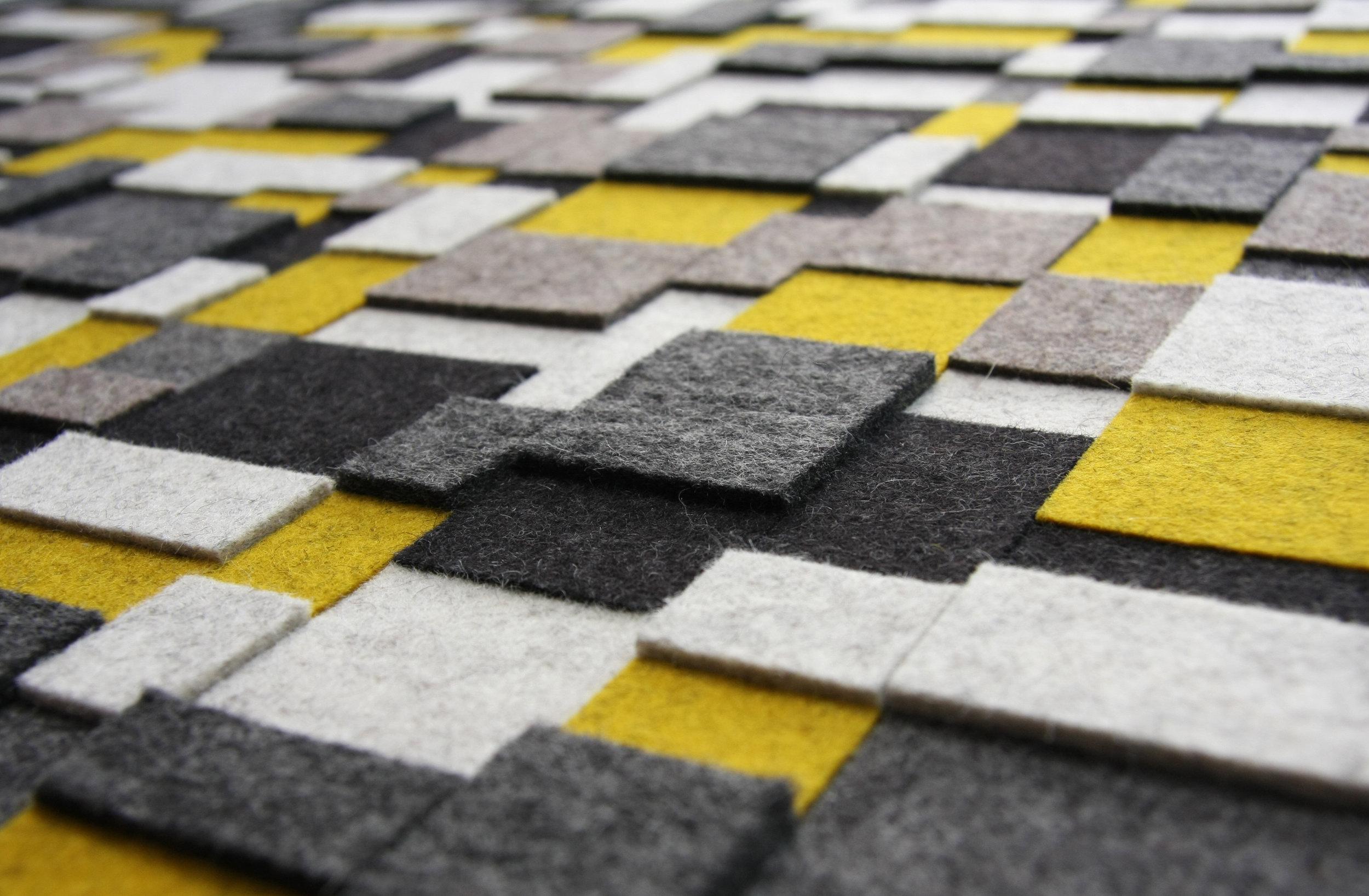 Aerial Wall Panel - Yellow / Black