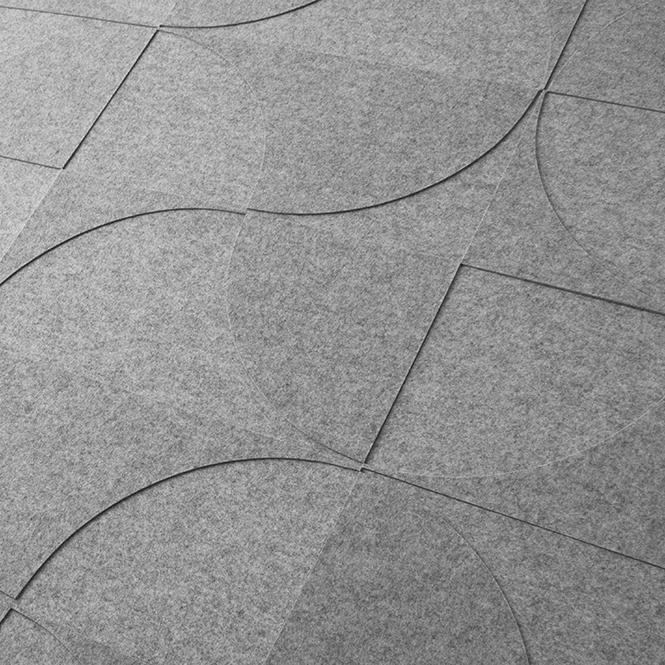 Figure no. 1 Wall Panel- Gray