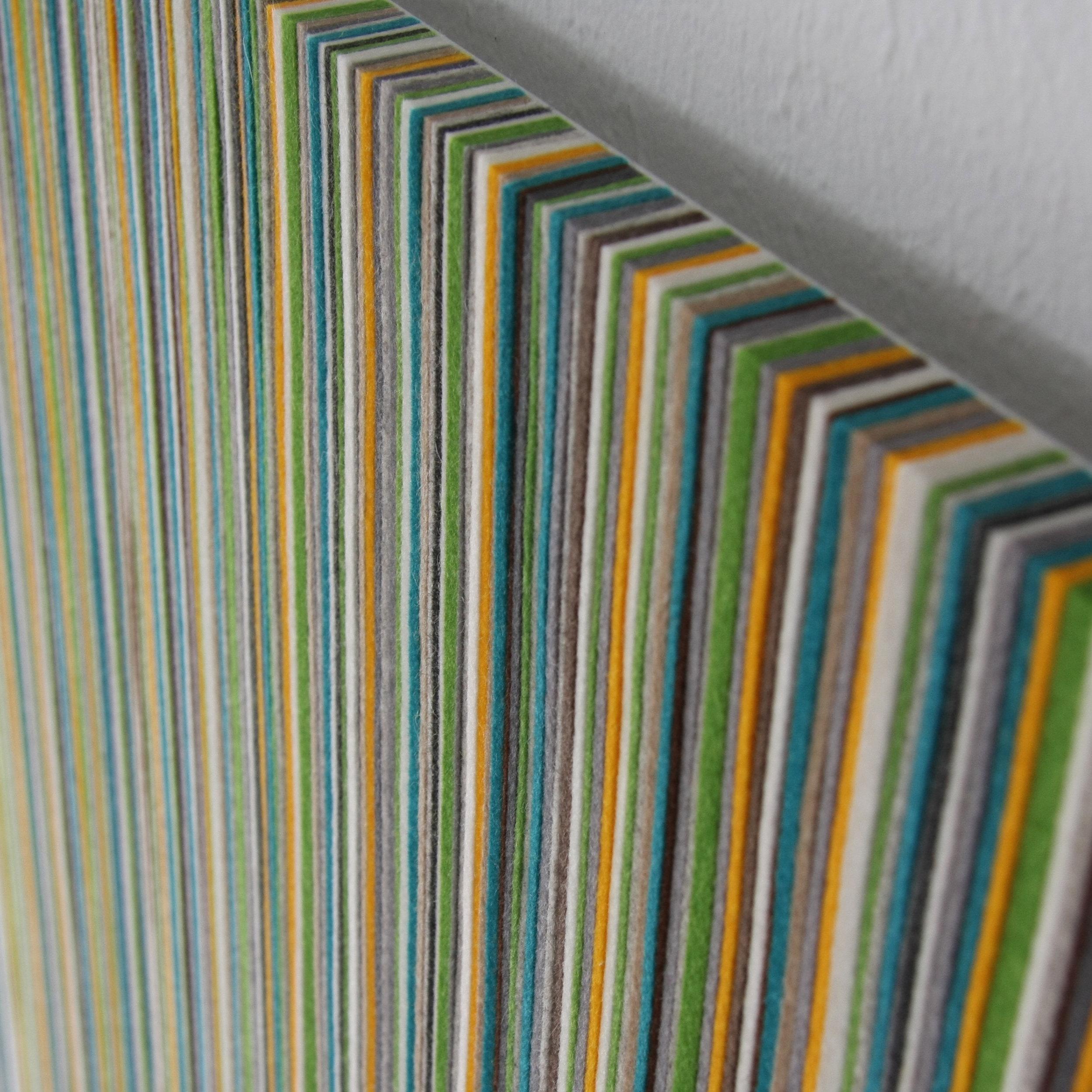 071 Wall Panel - Green / Blue / Yellow