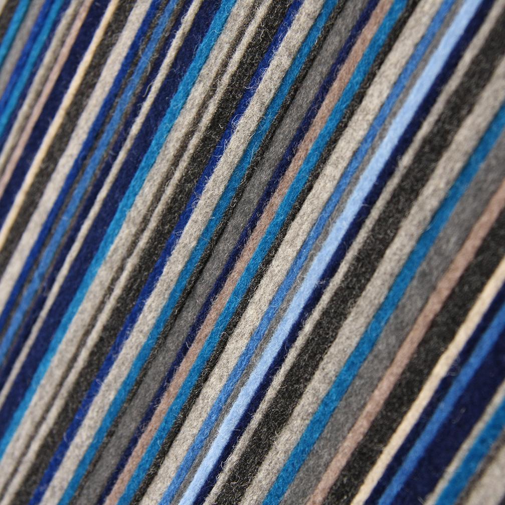 071 Wall Panel - Blue / White / Gray