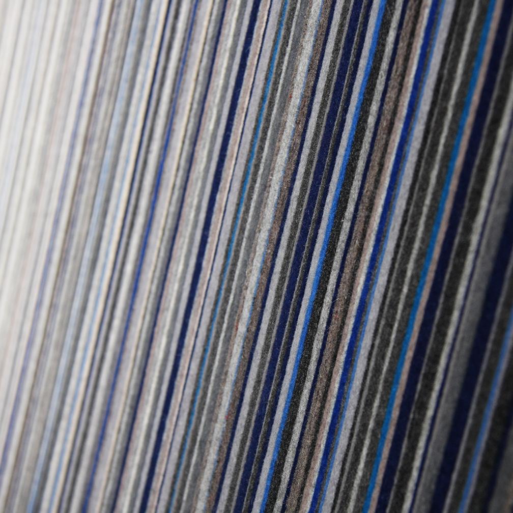 071 Wall Panel - Black / Blue/ White / Gray