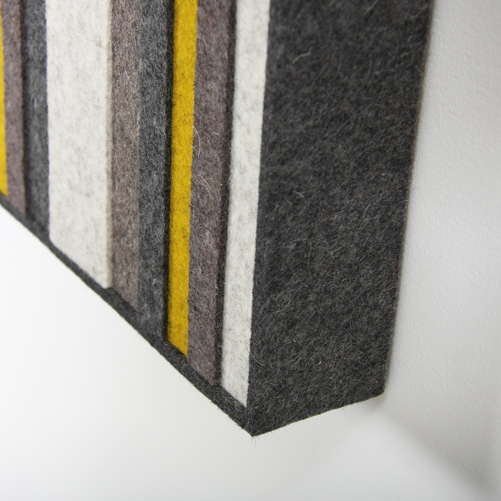 Index Dimensional Wall Panel - Yellow / Gray