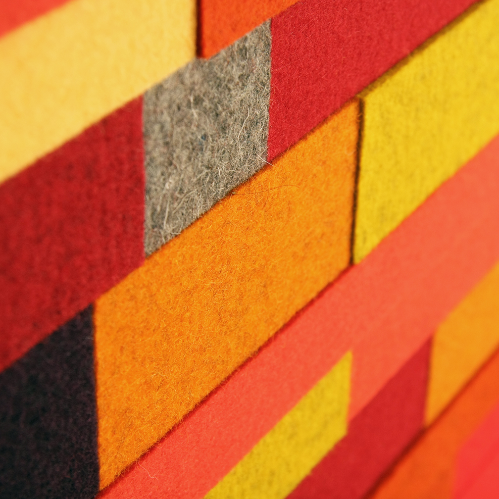 Horizon Wall Panel - Orange / Yellow / Red
