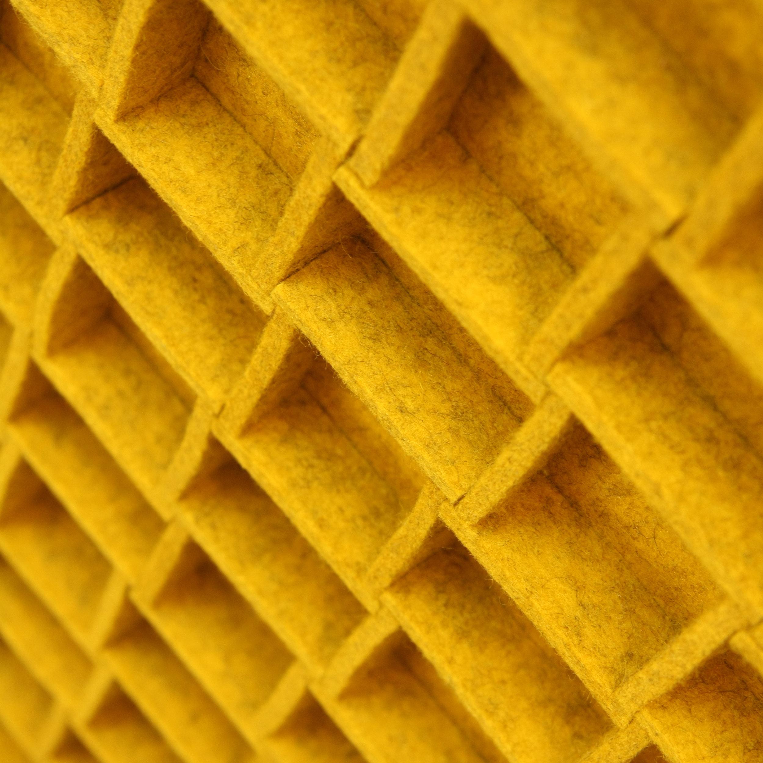 067 Wall Panel - Yellow
