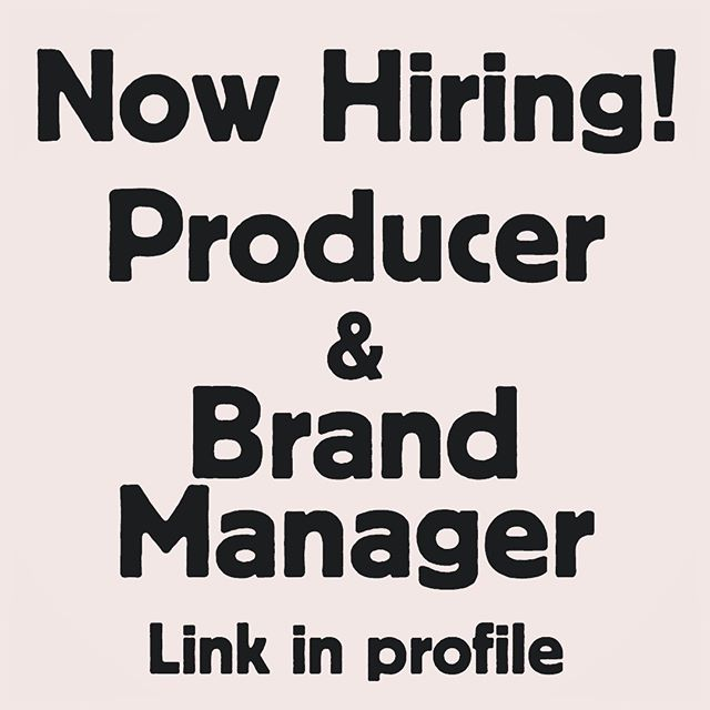 Maybe we are looking for you? Follow our profile link. .. . . . #animation #job #producer #brandmanager #portland #career #funny