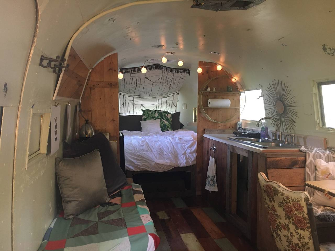 Prayerstream : Vintage Inspired Airstream Getaway - $40 a night (open for summer season)2 guests, 1 bed, kitchennette, 2 shared baths near byClick here for Airbnb listing for booking