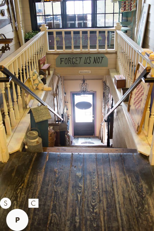 Stairway to Heaven Antiques Mall Newnan, GA © Susan Crutchfield Photography