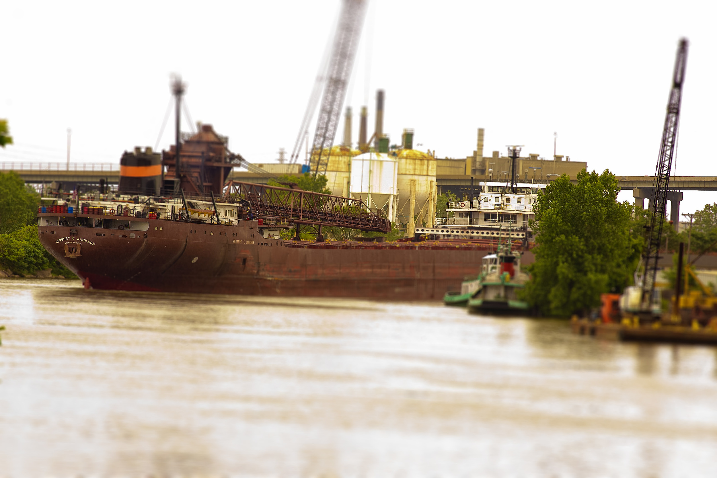Herbert C. Jackson on Rouge River • Photo by: James Lundeen