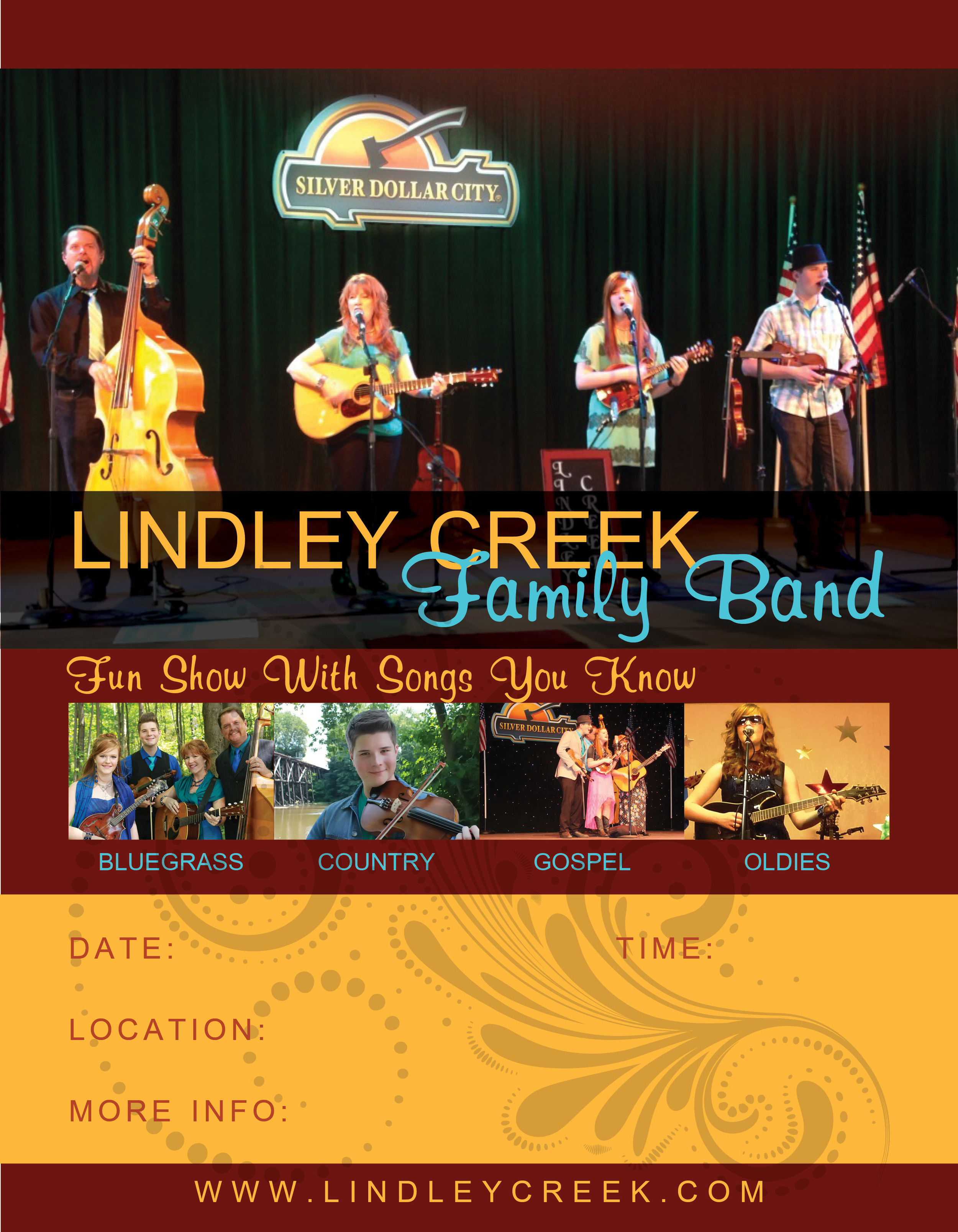 Family Band Poster
